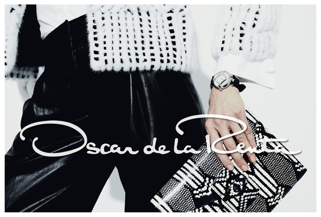 Oscar de la Renta watch ad