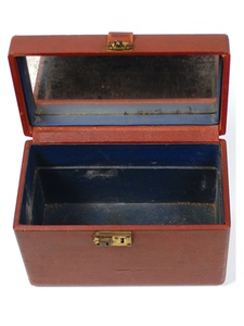 Bonnie and Clyde, cosmetic case, auction