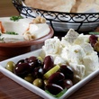 Ali Baba's feta cheese and olives mezze