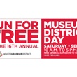 Houston Museum Day, logo, September 2012