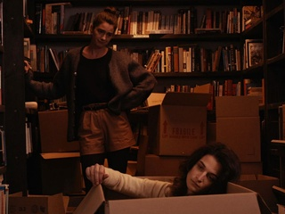 Gaby Hoffman and Jenny Slate in Obvious Child