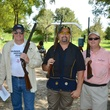 85 Kurtz Stowers, from left, Skip Zahn, Dave Perez and Frank Smejkal at the Backpack Buddies sport shooting event September 2014