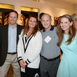27 William Van Pelt, from left, Frost Murphy, Lauri Bret Sanders and Rachael Wright at the HeartGift photo exhibition May 2014