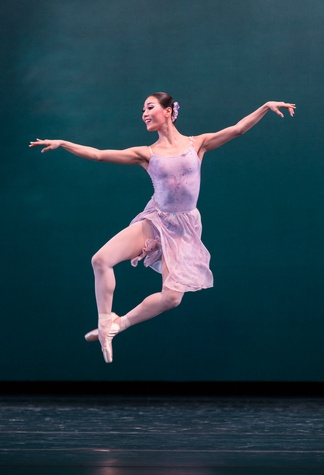 Houston Ballet Modern Masters March 2015 Soo Youn Cho in Ballo della Regina choreographed by George Balanchine