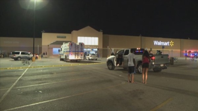 Walmart store evacuated after two men unleash chemical spray ...