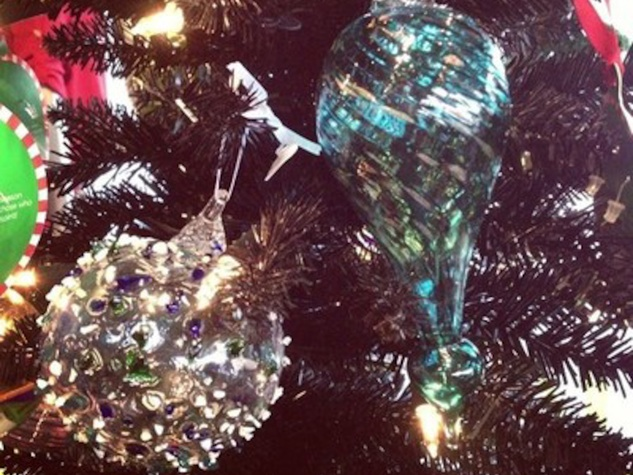 December Shopping 2013 A Town Glass Ornaments