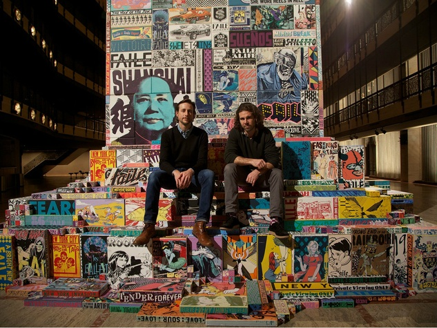 Patrick McNeil and Patrick Miller of Faile