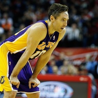 Steve Nash, Lakers, basketball, January 2013