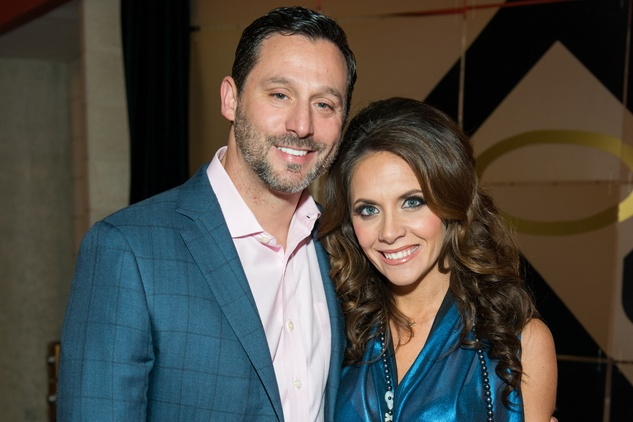 Brad and Joanna Marks at the Friday Night Lights Depelchin benefit November 2014
