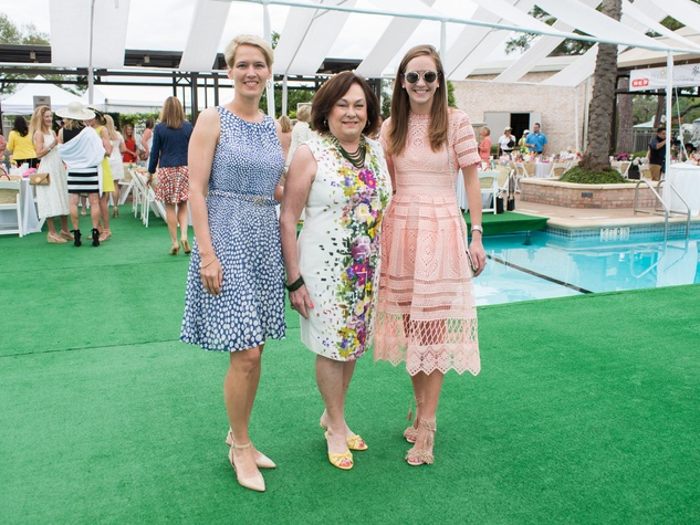 River Oaks Tennis Luncheon, April 2016, Gabriela Gerhart, Rose Cullen, Lilly Cullen