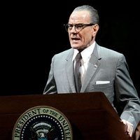 Bryan Cranston as LBJ in All the Way