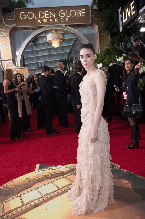 Rooney Mara at Golden Globe Awards