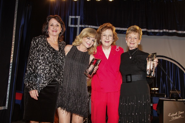 Linda Schmuck, from left, Kim Padgett, Kappy Muenzer and Diane Mattly at the Citizens for Animal Protection Gala November 2013