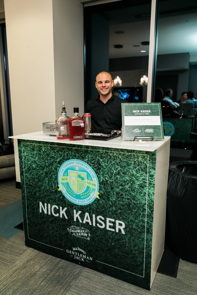 Bartender Nick Kaiser at CultureMap Country Club Social