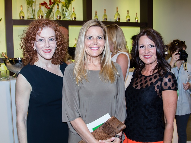 Caroline Hubach, Debra Nelson, Susan Elzner, Dallas Art Fair Preview Gala