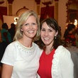 Bridgett Blank, left, and Mara Mauze at the Rienzi Punch Party October 2014