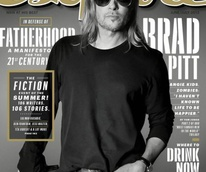 Esquire magazine Brad Pitt best bars June/July 2013 issue