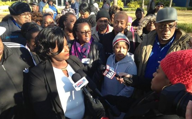 HISD bus drivers leave students in cold during protest January 2014