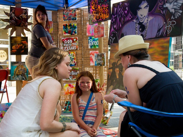 West 7th Crockett Creates art festival