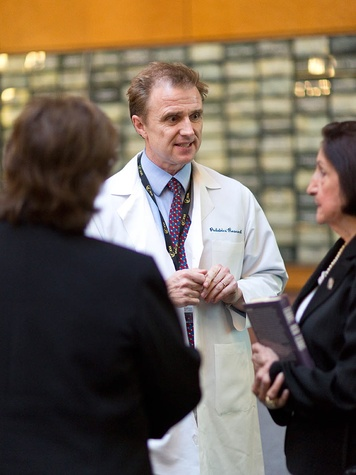 Dr. Laurence Cooper at the M.D. Anderson Children's Cancer Hospital ...