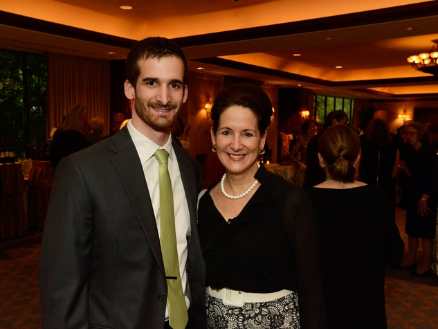 Ben Nichols and Lynne Liberato at Masterpiece Evening April 2014