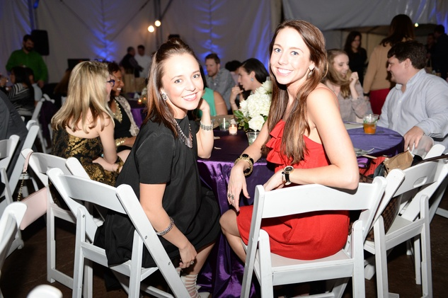 271 Allie Nicholson, left, and Shae Padgett at the Houston Zoo Ambassadors Gala February 2015