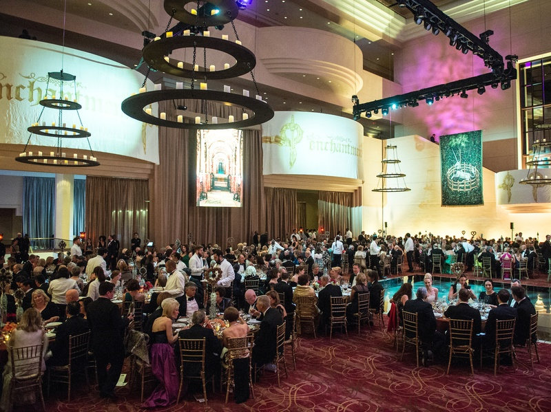 Houston, Ballet Ball social story, March 2017, The ballroom at the Wortham Theater Center