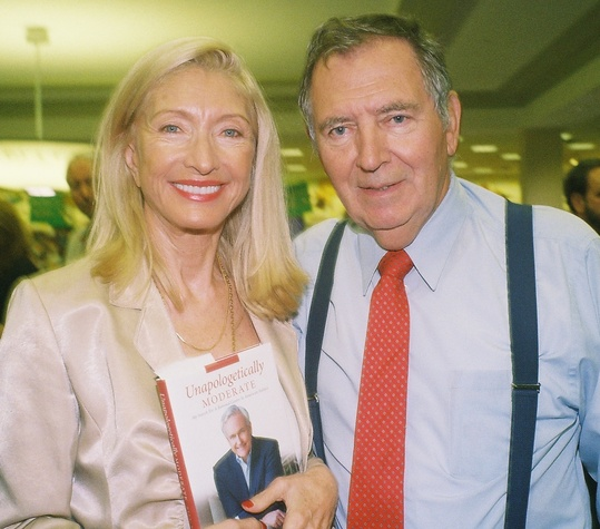 Marie and Alain LeNotre at the Bill King Book Signing November 2014