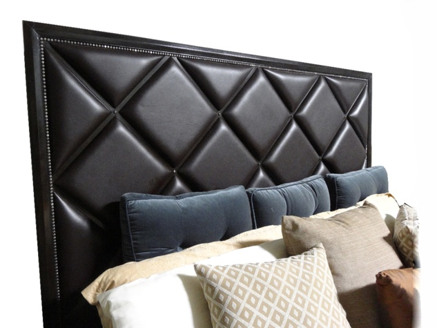 Buy Design Exchange December 2014 Leather Headboard