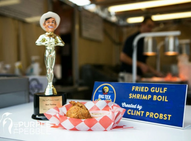State Fair Big Tex Choice Awards trophy