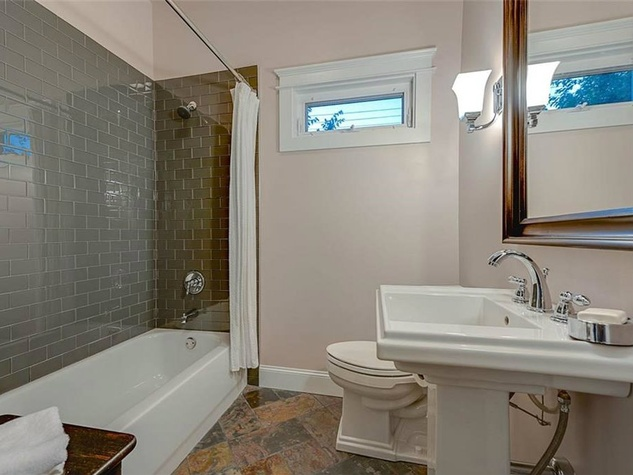 Bathroom at 701 S. Clinton Ave. in Oak Cliff