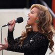 Beyonce, singing, inauguration, January 2013
