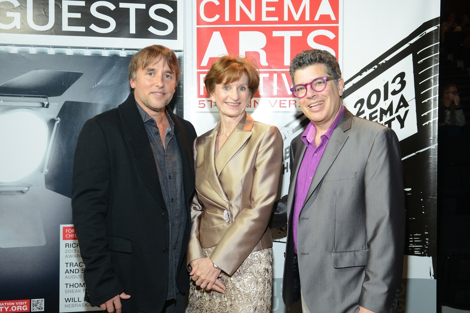 Houston Cinema Arts Festival recap November 2013 Richard Linklater_Trish Rigdon_Richard Herskowitz