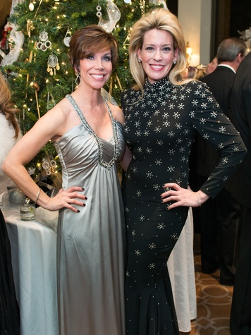 17 Roseann Rogers, left, and Mauri Oliver at the Trees of Hope Gala November 2014