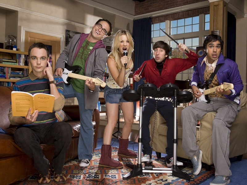 meet the cast of big bang theory 2012