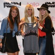 Christin Chavoya, Lauren Scruggs, Cassidy Woodard, Outline The Sky party