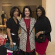 33 Gina Gaston, from left, Alicia Smith and Gail Brown at Houston Sweethearts at Saks February 2015