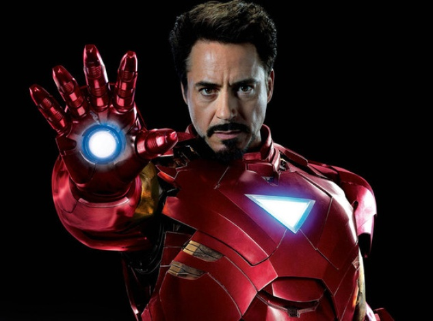 Robert Downey in Iron Man 3