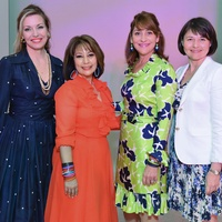 News, Children's Assessment Center luncheon,Tina Davis, Yvette Webb, Denise Hazen, Lidiya Gold, April 2014