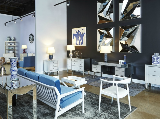New york furniture brand picks dallas design district for for Dallas design district furniture