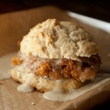 Banger's chicken fried chicken biscuit sandwich