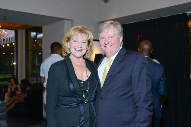 News, Shelby, HFAF party, August 2014, Carolyn Robertson, Jimmy Robertson