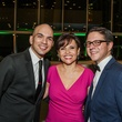 Carlos Meltzer, from left, Lucia Cordua and Nick Espinosa at the Bering Omega's Sing for Hope Event October 2014.