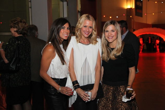 Selina Stanford, from left, Lyndsey Zorich and Stephanie Mays at the Friday Night Lights Depelchin benefit November 2014