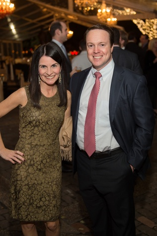 7020 Melissa and Bryan McDavid at the Heritage Society Gala December 2014