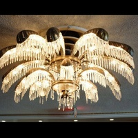 Houston Club auction, January 2013, Vintage chandeliers