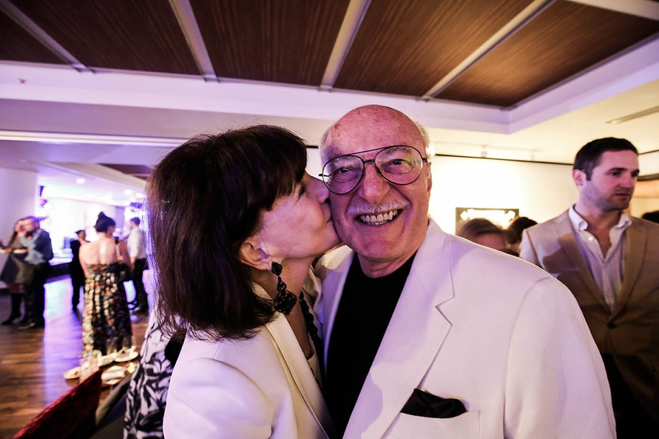 CultureMap fifth anniversary by F. Carter Smith October 2014 Shelby kissing Shafik
