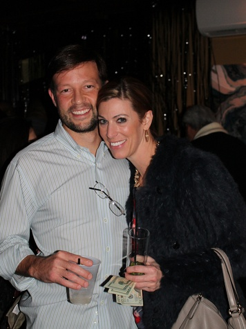 8 Eric Bhark and Nicole Winston at the Eleven XI party November 2013