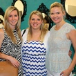 Jessica Bensen, Jenna Parenton and Emily Clemons, chantilly shopping event