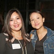 15 Angela Cortez, left, and Helen Barron at the Preservation Houston Young Professionals party November 2013